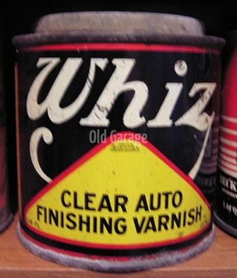 Whiz Clear Auto Finish