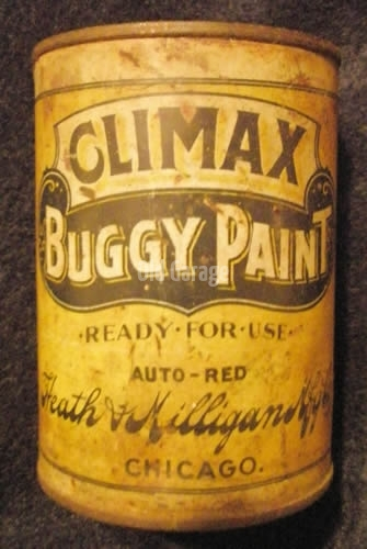 Climax Buggy Paint