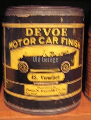 DeVoe Motor Car Finish