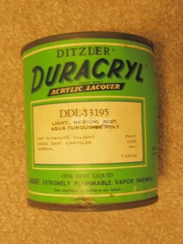 Ditzler Duracryl pt
