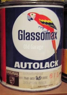 Glassomax Porsche Glasurit
