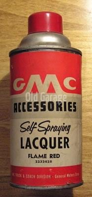 GMC spray lacquer