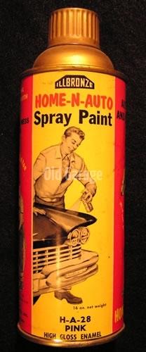 Illbronze spray paint