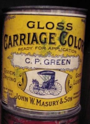 Masury Gloss Carriage