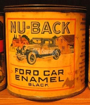 Nu-Back Ford Enamel