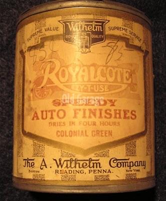 Royalcote Auto Finish