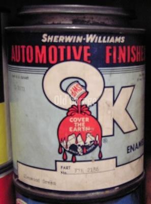 Sherwin-Williams OK Auto Enamel