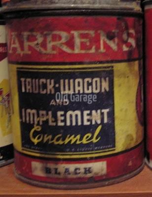 Warrens Truck Enamel