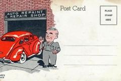 3M Auto Paint postcard 2