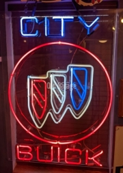 Buick Dealer Window Neon