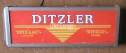 Ditzler electric sign
