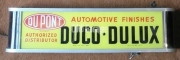 DuPont Duco automotive electric sign