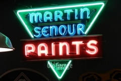 Martin Senour Paints Neon