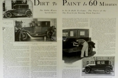 Dirty car to New Auto Paint1926