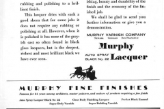 Murphy Lacquer 1929