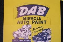 DAB Auto Paint display