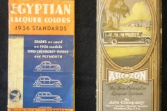 Egyptian, Arcozon brochures