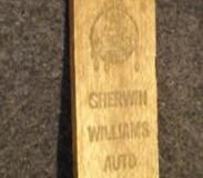 Sherwin-Williams advertising gas stick