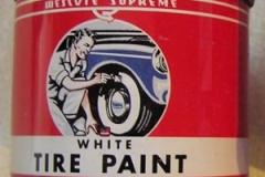 Wescote White Tire Paint