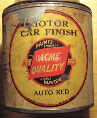 Acme Motorcar Finish