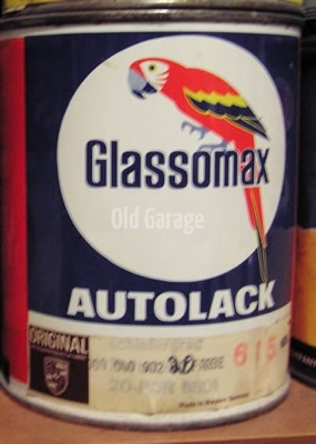 Glassomax Porsche Glasurit