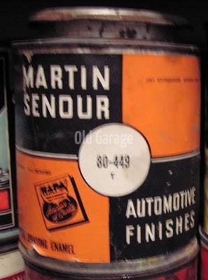 Martin Senour 1951 Studebaker