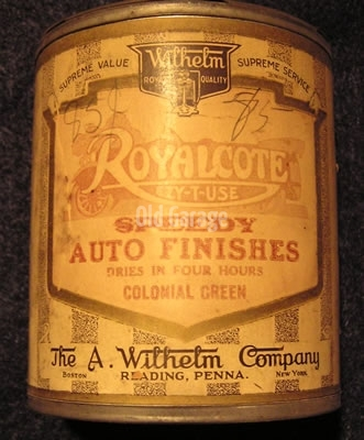 Royalcote Auto Finish
