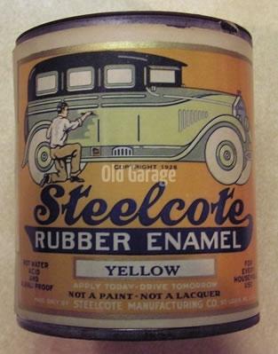 Steelcote Rubber Enamel qt