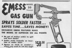 Emess Solder Sprayer 1957