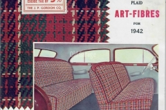 Gordon Seat Covers 1942