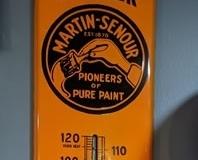 Martin Senour Monarch thermometer
