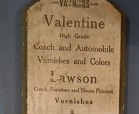 Valentine Auto Paint wood thermometer