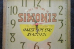Simonize clock