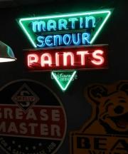 Martin Senour Paints Neon
