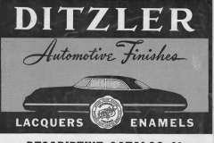 Ditzler 1949 Catalog Cover